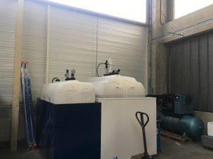 Poste complet Air Comprimée, stockage des fluides 2